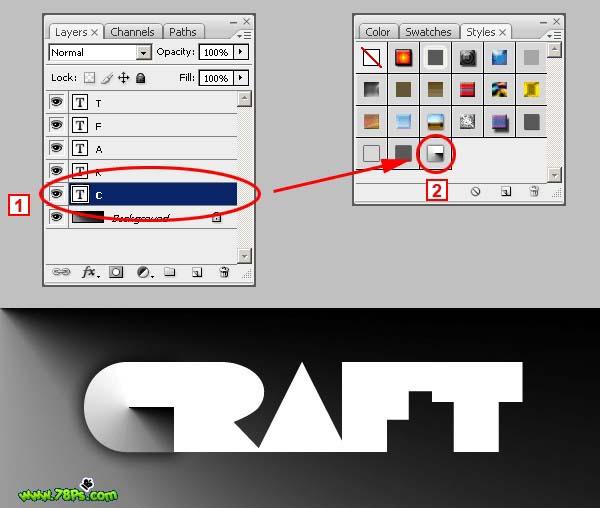 Photoshop制作剪纸字效果_亿码酷站___亿码酷站平面设计教程插图13