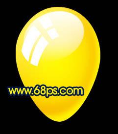 Photoshop制作漂亮的彩色气球_亿码酷站___亿码酷站平面设计教程插图15