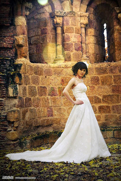 photoshop修复偏灰的婚片教程_亿码酷站___亿码酷站平面设计教程插图1