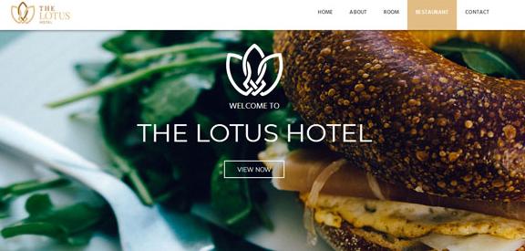 酒店自助在线预订平台模板_php网站模板