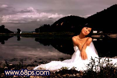 Photoshop快速打造暗调夜景婚片_亿码酷站___亿码酷站平面设计教程插图12