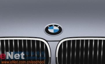 Photoshop鼠绘实例:宝马BMWM3_亿码酷站___亿码酷站平面设计教程插图15