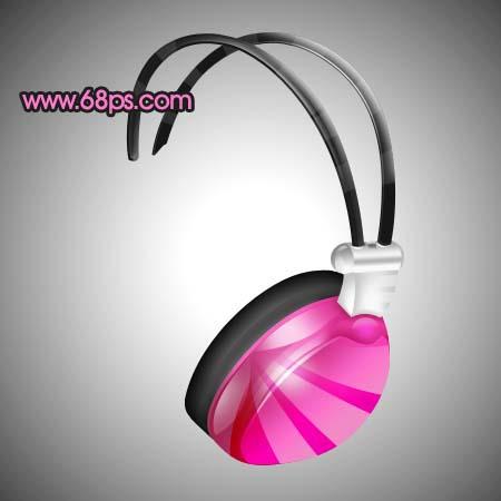 Photoshop制作一款时尚的耳机_亿码酷站___亿码酷站平面设计教程插图22