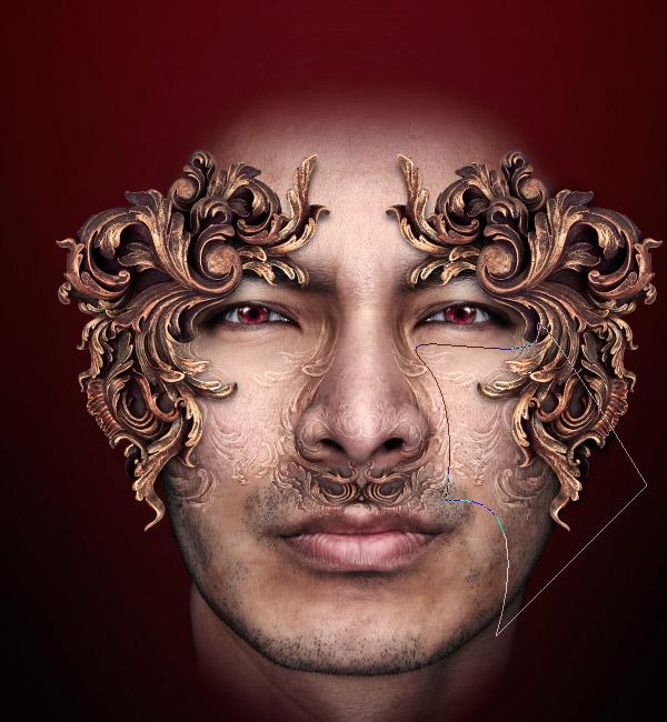 Photoshop图像合成实例:制作一个神秘者_亿码酷站___亿码酷站平面设计教程插图16