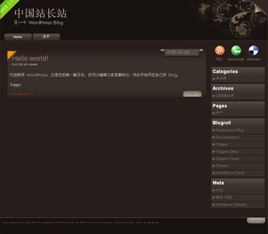 WordPress charcoal模板_亿码酷站_主题模板