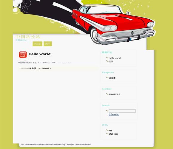 WordPress Thunderbird模板_亿码酷站_wordpress主题